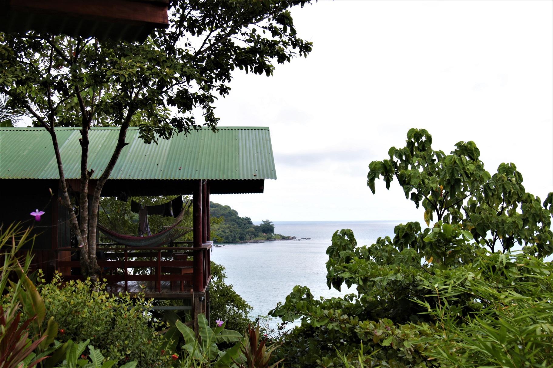 Garden and ocean view-bungalow #3 Drake Bay, Costa Rica